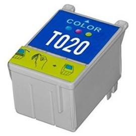 EPSON T020 TRICOLOR CARTUCHO DE TINTA COMPATÍVEL C13T02040110