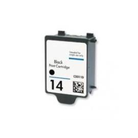 HP 14 BLACK CARTUCHO DE TINTA COMPATÍVEL C5011DE