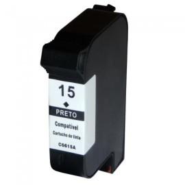 HP 15 BLACK CARTUCHO DE TINTA REMANUFACTURADO C6615DE