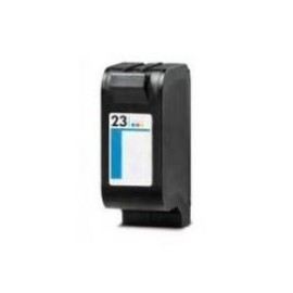 HP 23 TRICOLOR CARTUCHO DE TINTA REMANUFACTURADO C1823DE/C1823GE