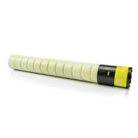Konica minolta bizhub c227/c267/c287 amarelo cartucho de toner generico tn-221y/a8k3250