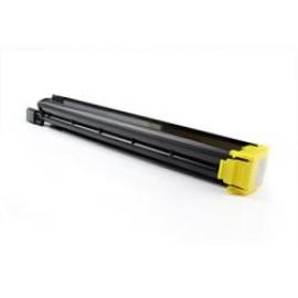 Konica minolta bizhub c451/c550/c650 amarelo cartucho de toner generico a070250/tn-611y