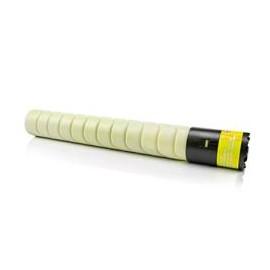 Konica minolta bizhub pro c5501/c6501 amarelo cartucho de toner generico a0vw250/tn-612y